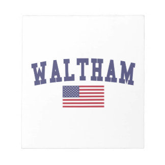 Waltham US Flag Note Pads