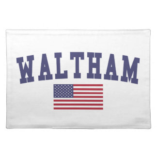 Waltham US Flag Placemat