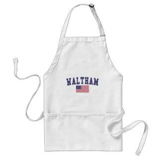 Waltham US Flag Standard Apron