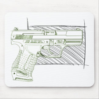 Walther P99 Mouse Pads
