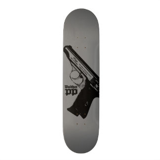 Walther PP Skateboard Deck