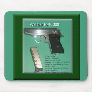 Walther PPK380ACP Mouse Mat