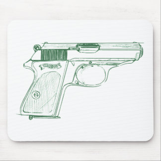 Walther PPK Mouse Mat