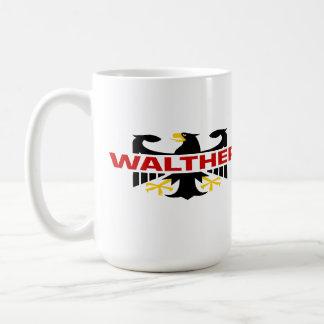 Walther Surname Basic White Mug