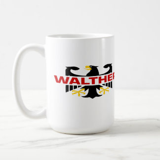 Walther Surname Classic White Coffee Mug
