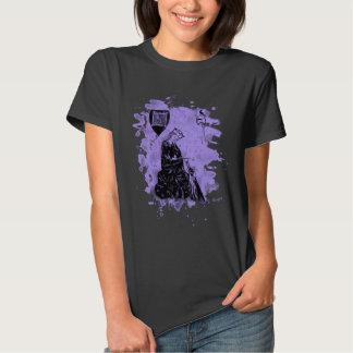 Walther von der Vogelweide - violet bleached Tee Shirts