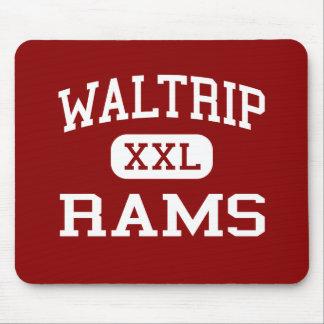 Waltrip - Rams - High School - Houston Texas Mouse Pads