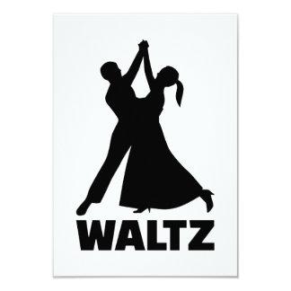 Waltz 9 Cm X 13 Cm Invitation Card