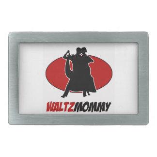 waltz DANCE DESIGNS Rectangular Belt Buckle