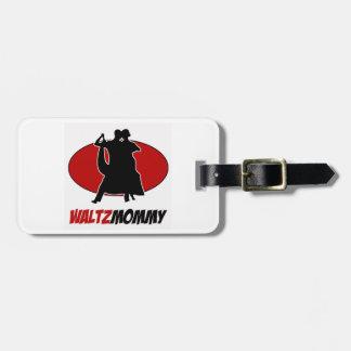 waltz DANCE DESIGNS Luggage Tag