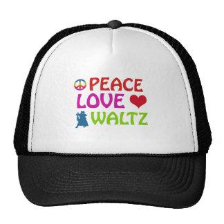 Waltz dancing designs mesh hat