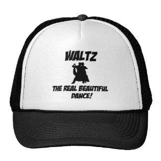 waltz  design hat
