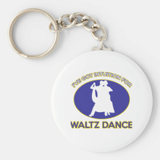 waltz design keychain