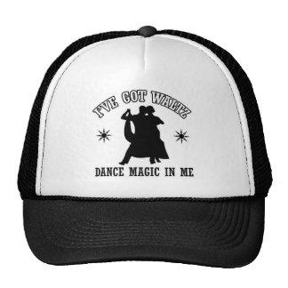Waltz designs hat