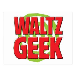 Waltz Geek Postcard