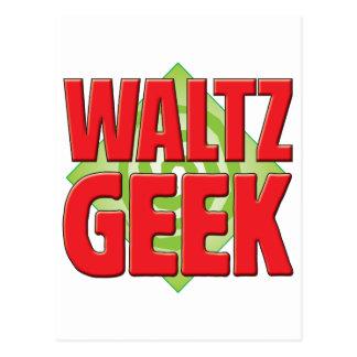 Waltz Geek v2 Postcard
