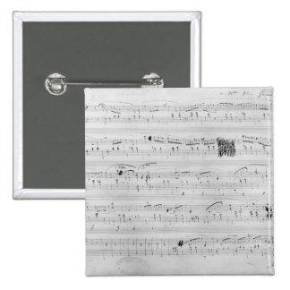 Waltz in F minor 15 Cm Square Badge