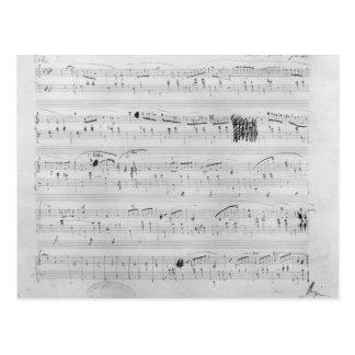 Waltz in F minor Postcard