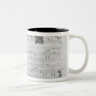 Waltz in F minor Two-Tone Coffee Mug