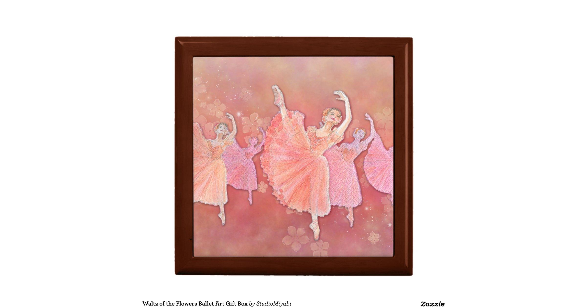 Waltz of the Flowers Ballet Art Gift Box