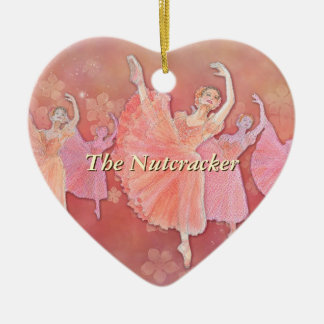 Waltz of the Flowers Heart Ornament