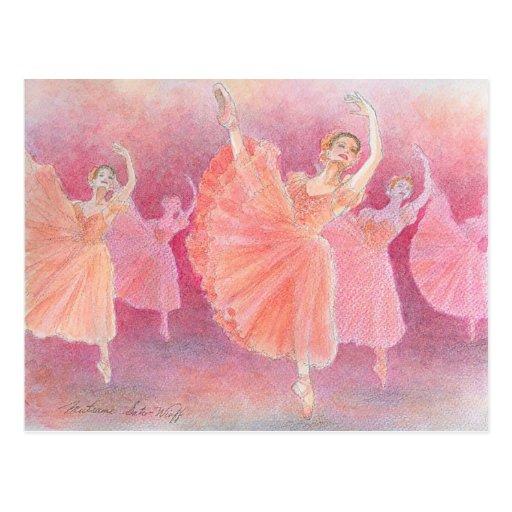 Waltz of the Flowers Postcard