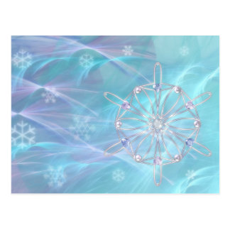 Waltz of the Snowflakes Postcard