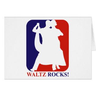 waltz Rock Greeting Card