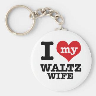 waltz wife key chain