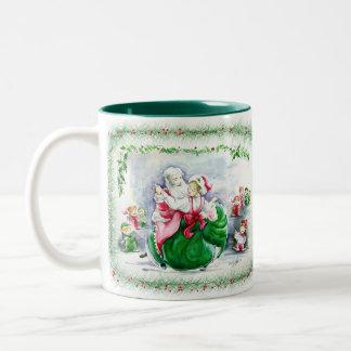 Waltzing Santa & Mrs. Claus  Mug