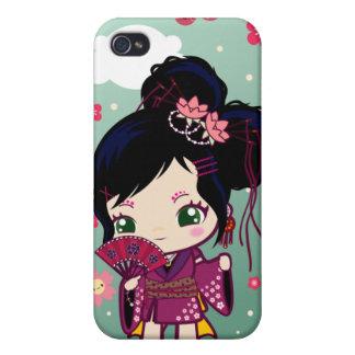Wamono Japanese Girl Ayaka iPhone 4/4S Case