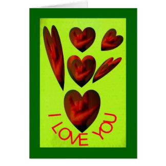Wanda Hand Sign I Love You 1 Greeting Card