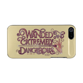 Wanded And Extremely Dangerous Graphic - Pink Incipio Feather® Shine iPhone 5 Case