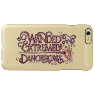 Wanded And Extremely Dangerous Graphic - Pink iPhone 6 Plus Case