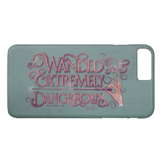 Wanded And Extremely Dangerous Graphic - Pink iPhone 8 Plus/7 Plus Case