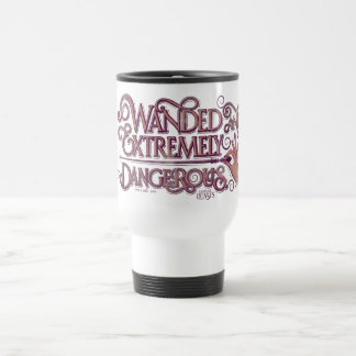 Wanded And Extremely Dangerous Graphic - Pink Travel Mug