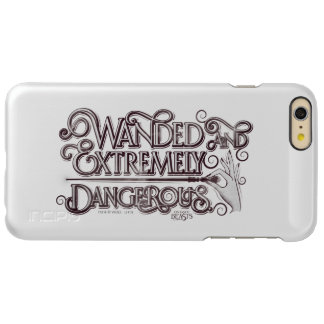 Wanded And Extremely Dangerous Graphic - White iPhone 6 Plus Case