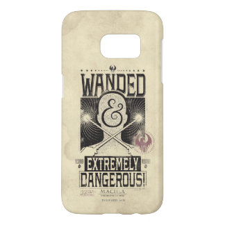 Wanded & Extremely Dangerous Wanted Poster - Black