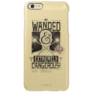 Wanded & Extremely Dangerous Wanted Poster - Black iPhone 6 Plus Case