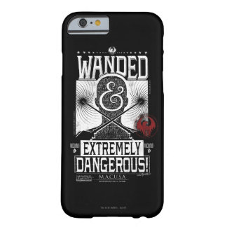 Wanded & Extremely Dangerous Wanted Poster - White Barely There iPhone 6 Case