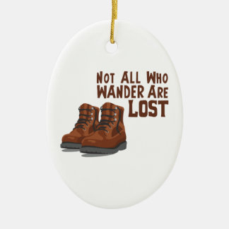 Wander Lost Christmas Ornament