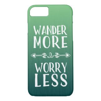 Wander More | Worry Less Boho iPhone 8/7 Case