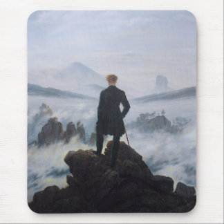 Wanderer above the Sea of Fog Mouse Mat