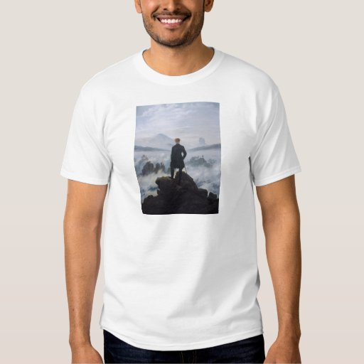 Wanderer above the Sea of Fog Tee Shirt