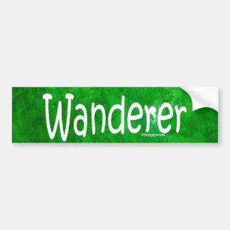 Wanderer Bumper Sticker