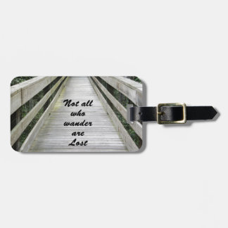 Wanderer Luggage Tag