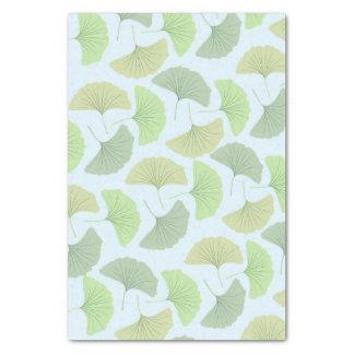Wandering Green Ginkgo Tissue Paper