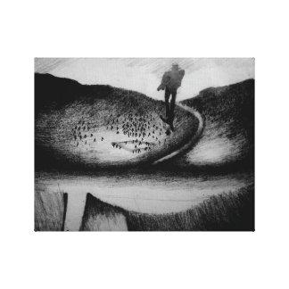 Wandering Man Canvas Print