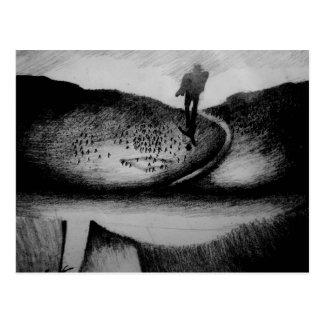Wandering Man Postcard