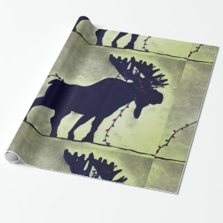 Wandering Moose Wrapping Paper